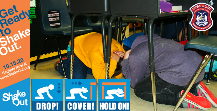 Missouri's statewide ShakeOut earthquake drill