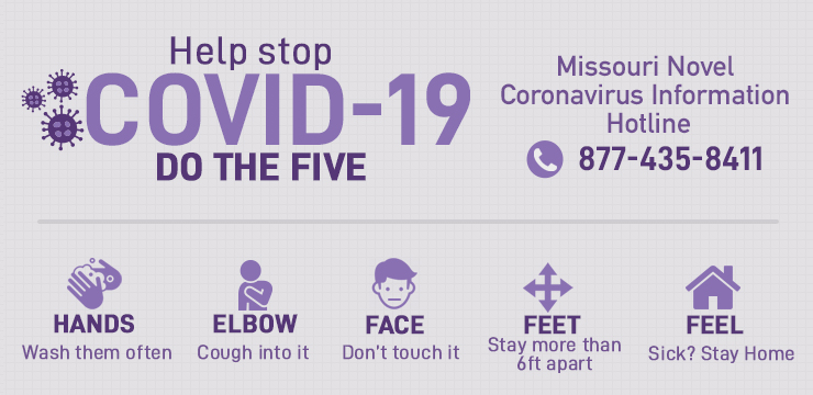 Help stop COVID-19 - Do the five