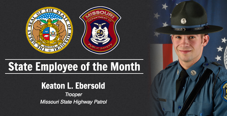 State Employee of the Month - Keaton Ebersol