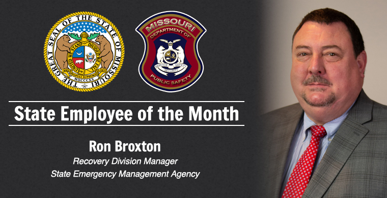 State Employee of the Month - Ron Braxton