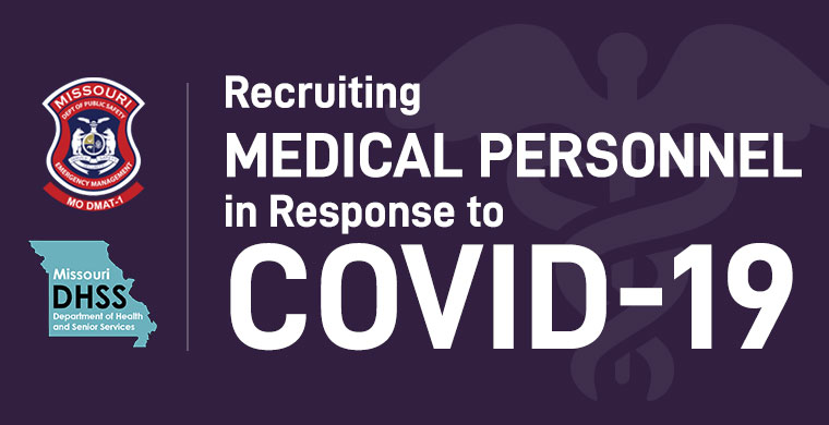 Recruiting Medical Personnel in response to COVID-19 Click Here for more information