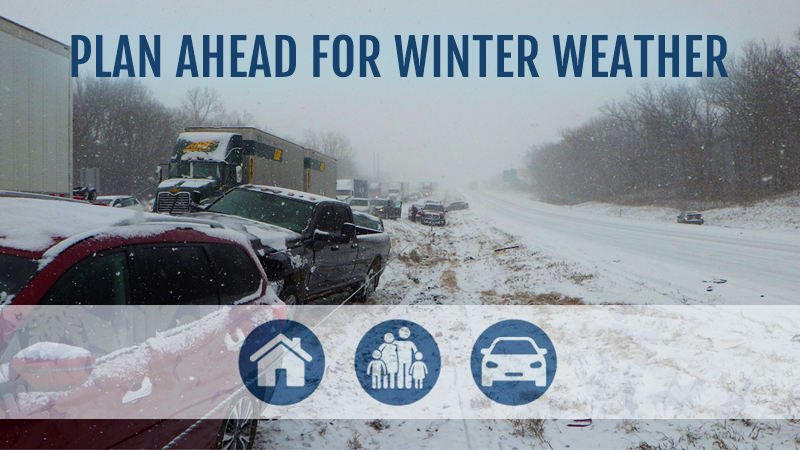 plan ahead for winter weather