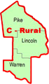 Regional Coordinators Map - Section C - Rural