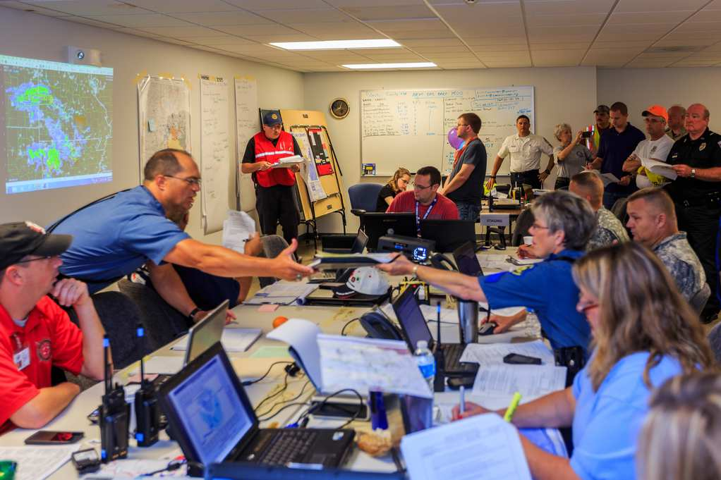 Figure 1 Incident Support Team Response to Pulaski Co Flood 2016